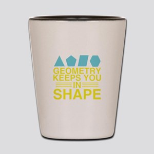 Math Geometry Shot Glass