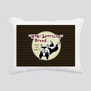 bostonnonsportbag Rectangular Canvas Pillow