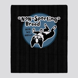 bostonnonsportkindle Throw Blanket