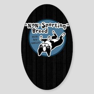 bostonnonsportkindle Sticker (Oval)