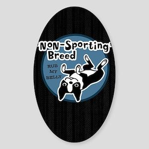 bostonnonsportipad Sticker (Oval)