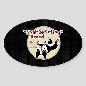 bostonnonsportminiwallet Sticker (Oval)