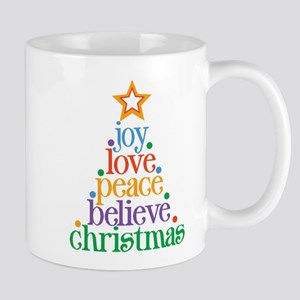 Joy Love Christmas Mug