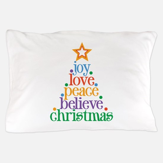Joy Love Christmas Pillow Case