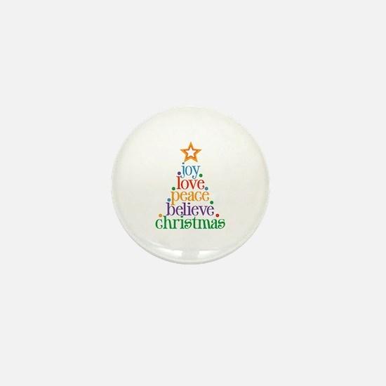 Joy Love Christmas Mini Button (100 pack)