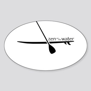 Zen on the Water Sticker