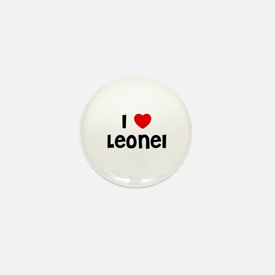 I * Leonel Mini Button