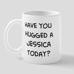 Hugged a Jessica Mug