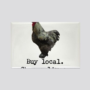 Buy Local. Change Lives. Chicken Magnets