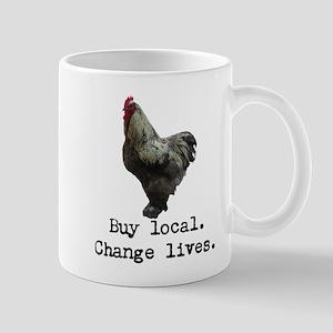 Buy Local. Change Lives. Chicken Mugs