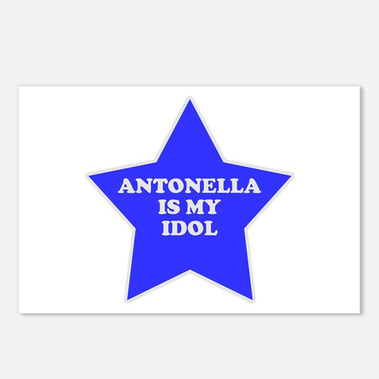Antonella Is My Idol Postcards (Package of 8)