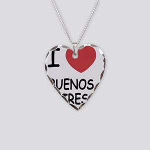 BUENOS_AIRES Necklace Heart Charm