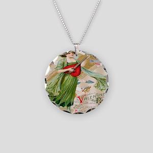 apparel-vintage-valentine03 Necklace Circle Charm