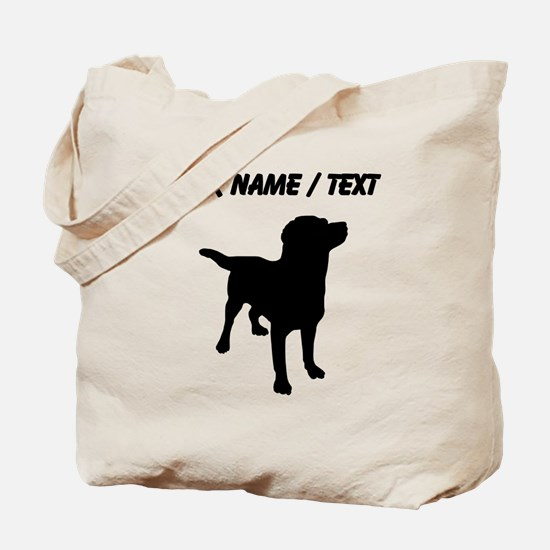 Custom Labrador Retriever Tote Bag