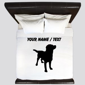 Custom Labrador Retriever King Duvet