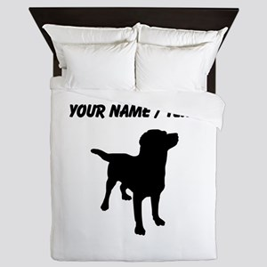 Custom Labrador Retriever Queen Duvet