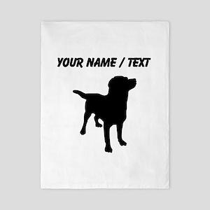 Custom Labrador Retriever Twin Duvet