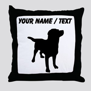 Custom Labrador Retriever Throw Pillow