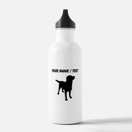 Custom Labrador Retriever Water Bottle