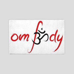om-body 3'x5' Area Rug