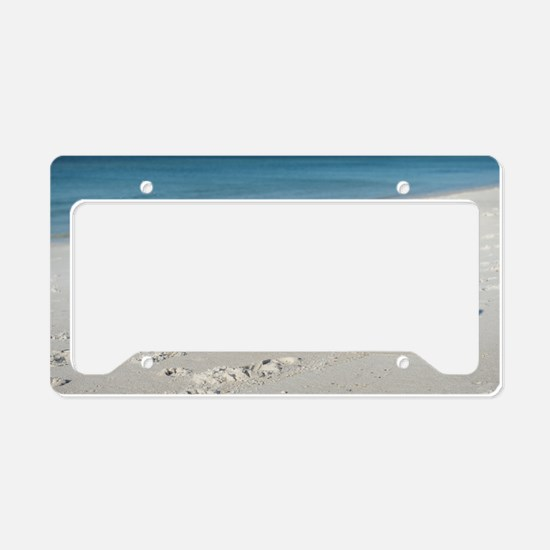 Scully Runs Inlet Beach License Plate Holder