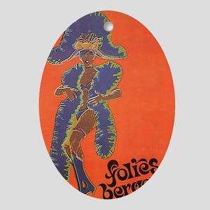 Folies Bergere 75 Oval Ornament