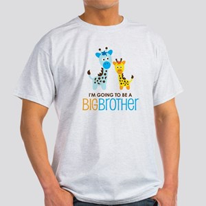 GiraffeBigBrotherToBeV2 Light T-Shirt