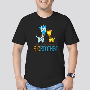 GiraffeBigBrotherToBeV Men's Fitted T-Shirt (dark)