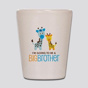 GiraffeBigBrotherToBeV2 Shot Glass