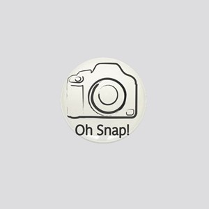 Oh Snap Photography Mini Button
