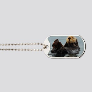 115x9_calender_otter_10 Dog Tags