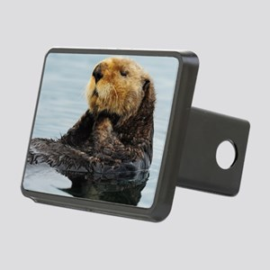 115x9_calender_otter_11 Rectangular Hitch Cover
