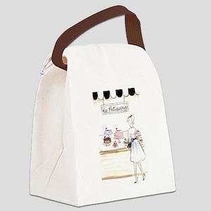 la patisserie Canvas Lunch Bag