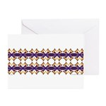 'Mardi Gras' Greeting Cards (Pk of 10)