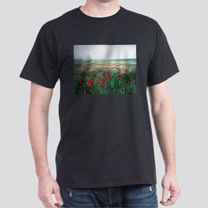 poppy poppies art Dark T-Shirt