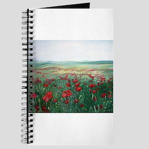 poppy poppies art Journal