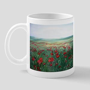 poppy poppies art Mug