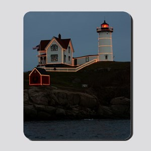 Nubble light keychain Mousepad