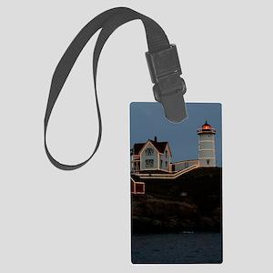 Nubble light keychain Large Luggage Tag