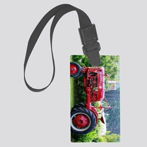 tractor keychain Large Luggage Tag