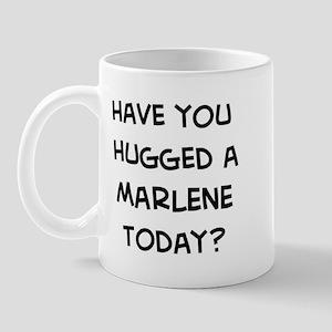 Hugged a Marlene Mug