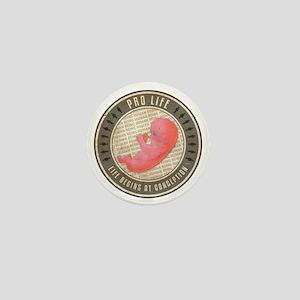 july11_pro_life_baby Mini Button