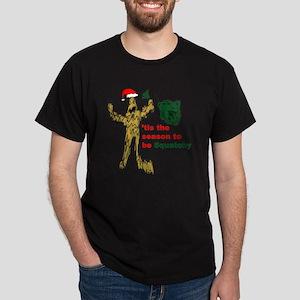 squatchxmas2 Dark T-Shirt