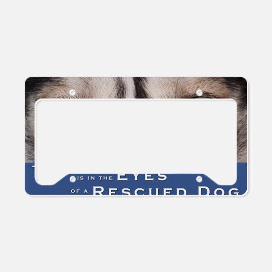 mouse-pad License Plate Holder
