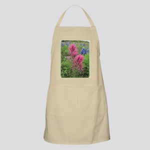 Indian Pinks and Bluebonnets Apron