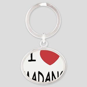 MADANG Oval Keychain