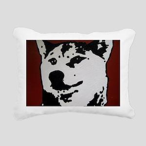 test Rectangular Canvas Pillow