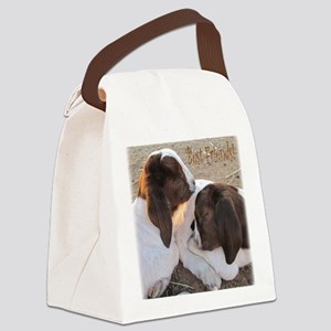 Best Friends! Canvas Lunch Bag
