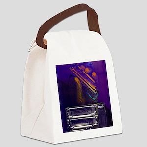 harpbendpuzfin2 Canvas Lunch Bag