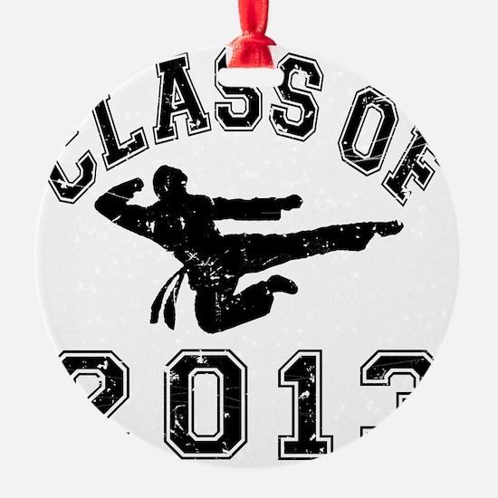 Class Of 2013 - Martial Art 2 D Ornament